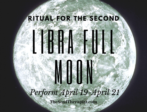 Libra Full Moon Ritual for April